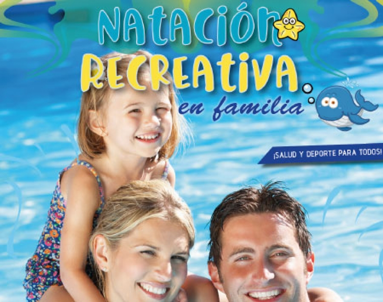 Natación recreativa en famiilia